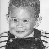 Retrato de mi hijo Juan Máximo