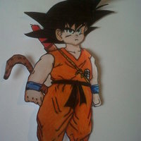 Goku - No rendirse jamas