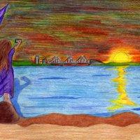 Amanecer Dispersor del color