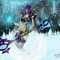 Elfa de la noche DK Fan-art