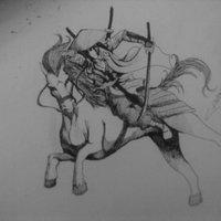Shibu Samikoshi in horse