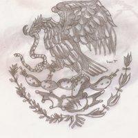 Águila del escudo nacional