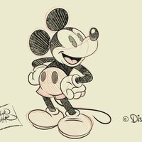Mickey Mouse Sketch 1.