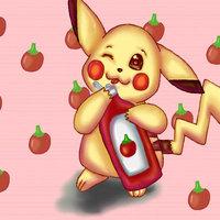 Pikachu ama el ketchup