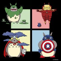 Totoros Avengers