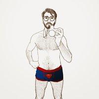 Clark Kent is a flasher / Clark Kent es un exhibicionista