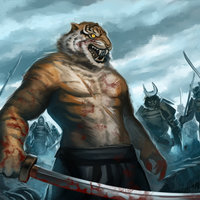Timelapse Painting - Guerrero Tigre