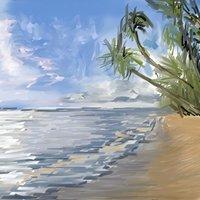 la olas de la orilla