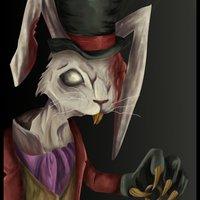 Conejo Blanco Zombie