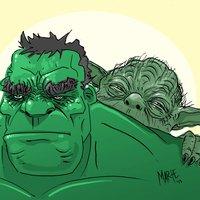 Hulk & Yoda