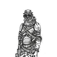 Steampunk Soldier 001