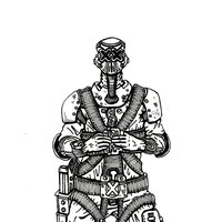Steampunk Soldier 002