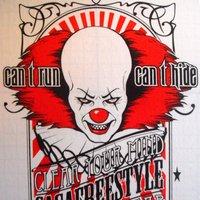 Clown full of hate