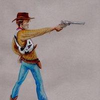 Woody (Toy Story) Spaghetti Western