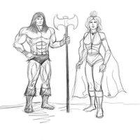 Conan y princesa