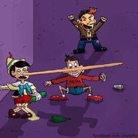 Pinocho de fiesta