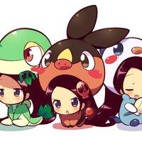 Chibis Pokemons Hijas de Sakura