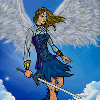 chica angel