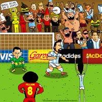 Gol del Pipita vs Belgica