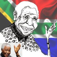 Mandela es feliz