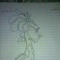 Dibujo de dragon del 2013 n°1