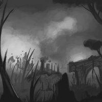 bosque de palitos