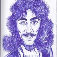 Iñigo Montoya mi primer dibujo a boli bic