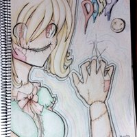 Dibujo manga lapices de colores