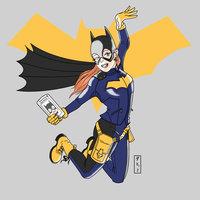 Otro dibujo de Batgirl