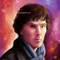 Sherlock Holmes - Retrato a Benedict Cumberbatch