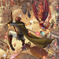 Wizard's War - Falling between castles