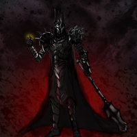 Sauron - Speedpaint con Photoshop