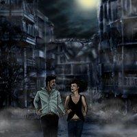portada para novela zombie