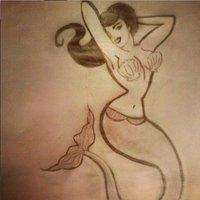 Pin Up Sirena