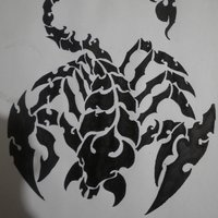 Tatuaje de escorpion