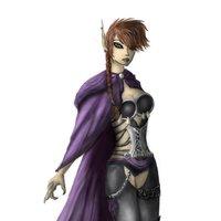 Lanae, hechicera elfa protagonista de nuestro próximo videojuego RPG