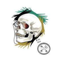 Cráneo y Monóculo