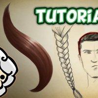 Como dibujar y pintar pelo realista