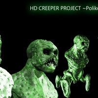 Minecraft en la vida real: Creeper 3D