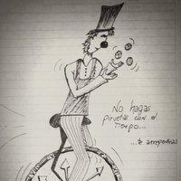El monociclo del tiempo