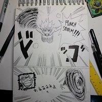 draw manga page CYRO :D