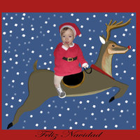 Carolina y yo os deseamos Feliz Navidad!