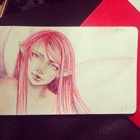 Dibujo diario - Día 1 - Fairy