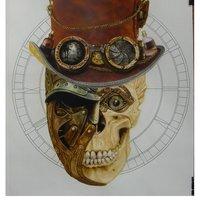 skull steampunk