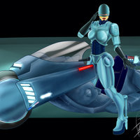 Female Robocop (#Desafío52)