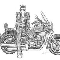 Gleen y su moto intergalactico ok