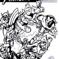 the avengers bill everett style