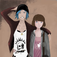 Life is strange_ Chloe y Max