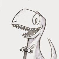 Diseños Ilustración Infantil - T-Rex
