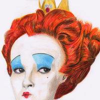 Reina de Corazones- Alicia en el pais de las maravillas